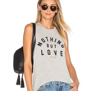Spiritual Gangster Nothing But Love Tank Top Sz L